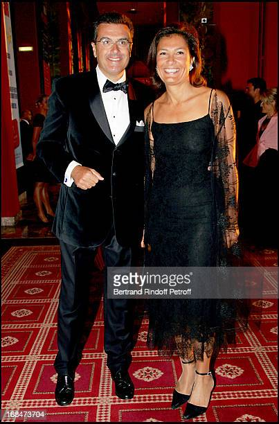 Bruno and Agnes Cromback Deauville's great Ball in the occasion of the 60th anniversary of the association Acare