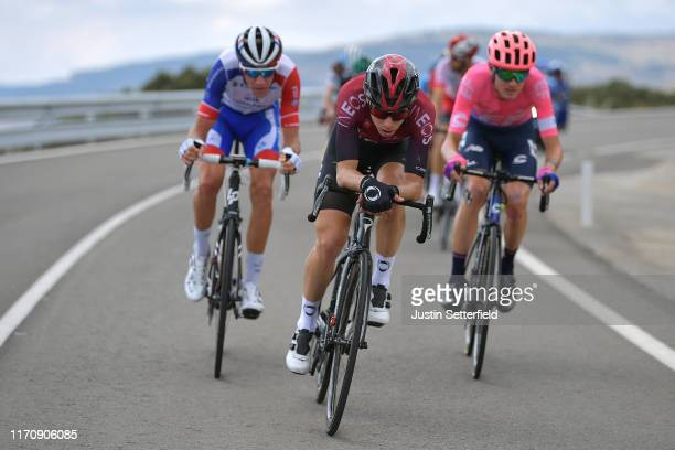 Bruno Armirail of France and Team GroupamaFDJ / David de la Cruz of Spain and Team Ineos / Tejay van Garderen of The United States and Team EF...
