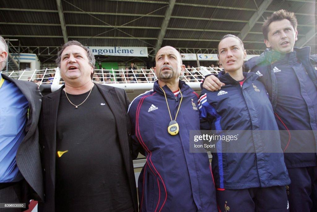 Bruno BINI / Andre BARTHELEMY / Corinne DIACRE - - France / Slovenie - Match Amical ,