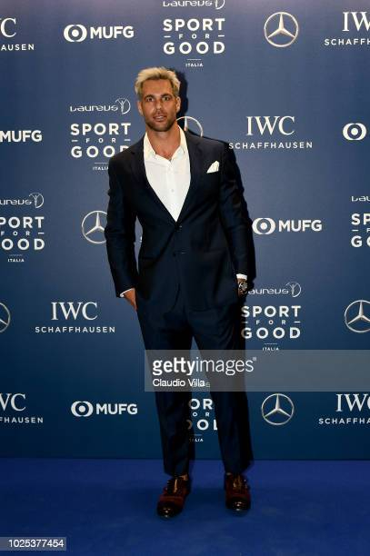 Bruno Cerella attends Laureus F1 Charity Night on August 30 2018 in Milan Italy