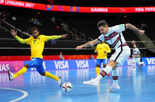 LTU: Solomon Islands v Portugal: Group C - FIFA Futsal World Cup 2021