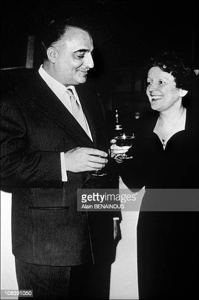 Bruno Coquatrix and Edith Piaf doc Coquatrix/2170 in Paris France on 04 1997
