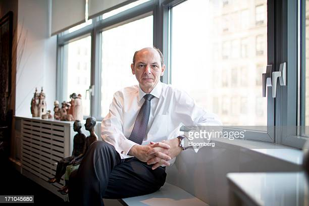 Bruno Di Leo senior vice president of sales and distribution for International Business Machines Corp stands for a photograph in New York US on...