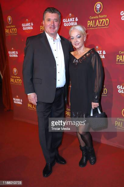 Bruno F Apitz and guest at the Polettos Palazzo at Spiegelpalast on November 15 2019 in Hamburg Germany