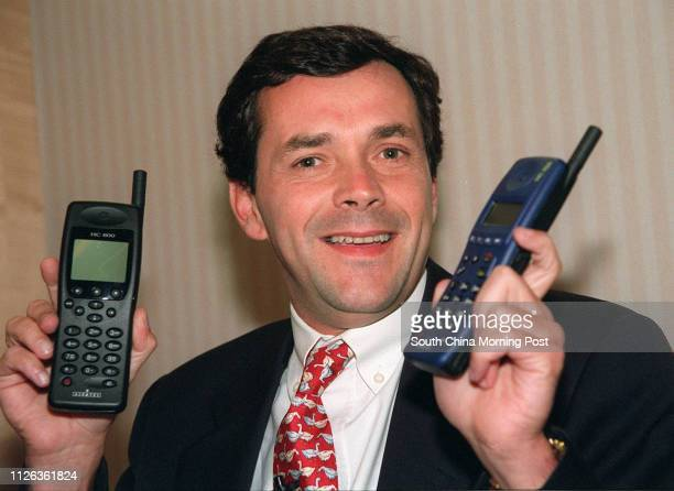 FABRE [Bruno Fabre] WITH NEW GSM MOBILE PHONES BY ALCATEL 17 NOV 95