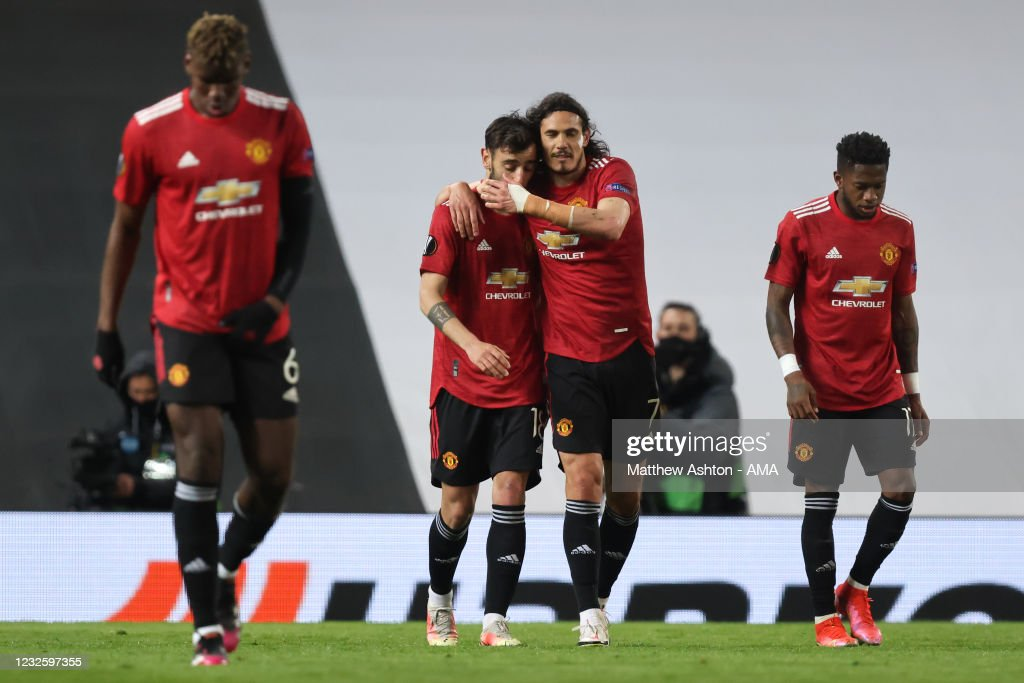 Manchester United v AS Roma - UEFA Europa League Semi Final: Leg One : News Photo