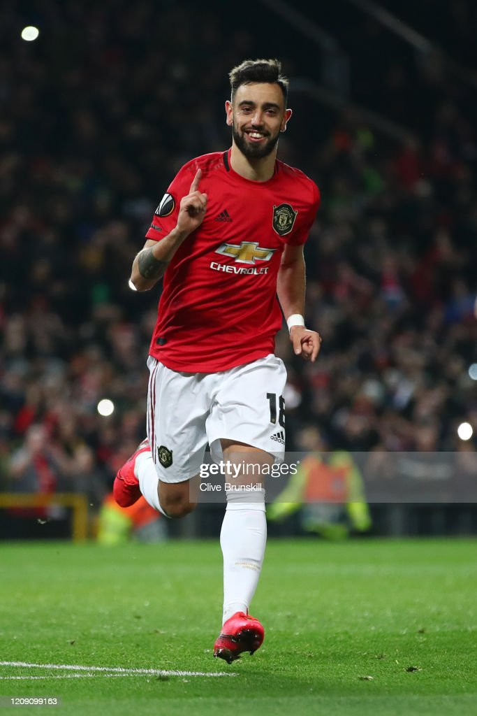 Manchester United v Club Brugge - UEFA Europa League Round of 32: Second Leg : ニュース写真