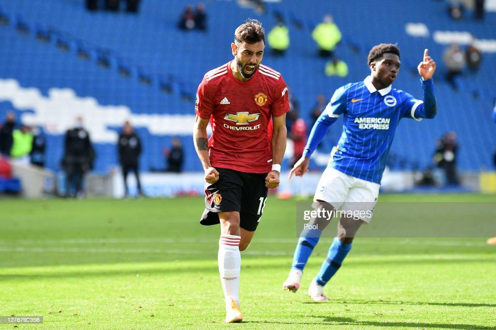 Brighton & Hove Albion v Manchester United - Premier League : Fotografia de notícias