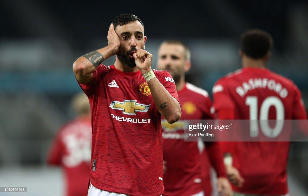 Newcastle United v Manchester United - Premier League : ニュース写真