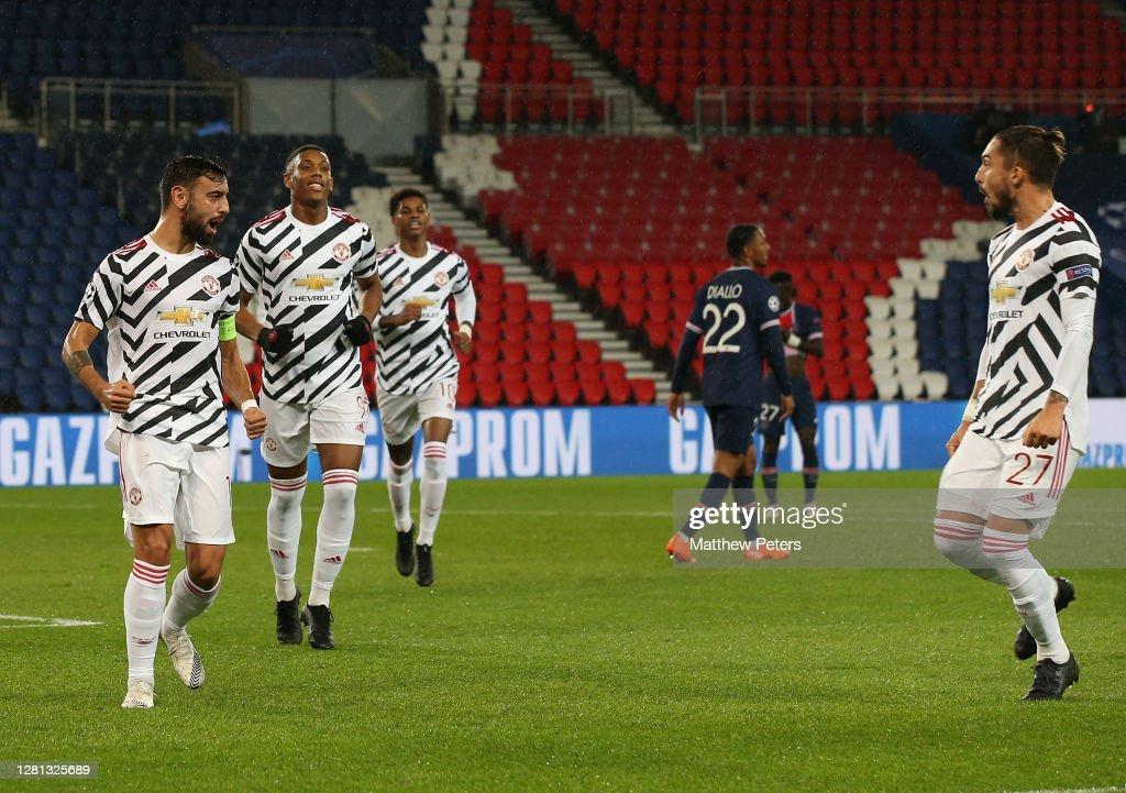 Paris Saint-Germain v Manchester United: Group H - UEFA Champions League : News Photo