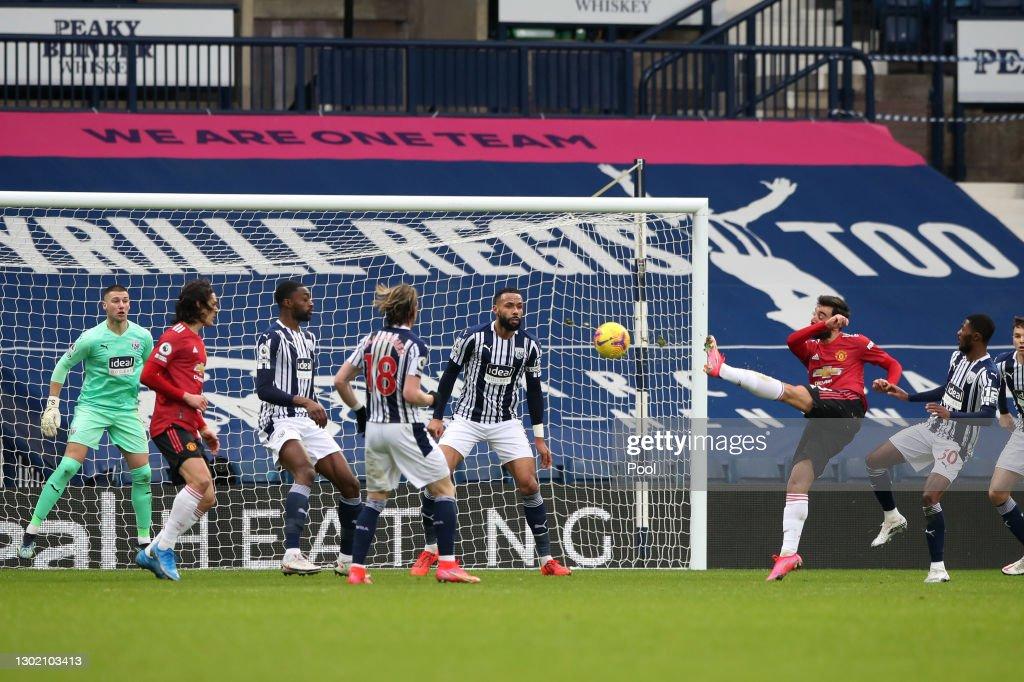 West Bromwich Albion v Manchester United - Premier League : ニュース写真