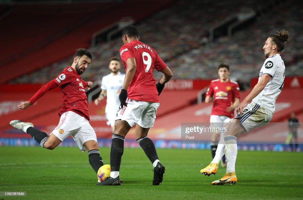 Manchester United v Leeds United - Premier League : ニュース写真