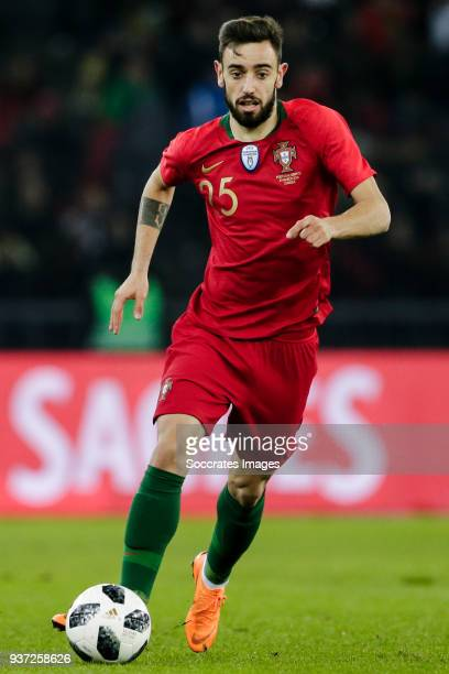 Bruno Fernandes of Portugal during the International Friendly match between Egypt v Portugal at the Letzigrund Stadium on March 23 2018 in Zurich...