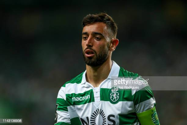 Bruno Fernandes of Sporting CP during the Liga NOS match between Sporting CP and CD Tondela at Estadio Jose Alvalade on May 11 2019 in Lisbon Portugal