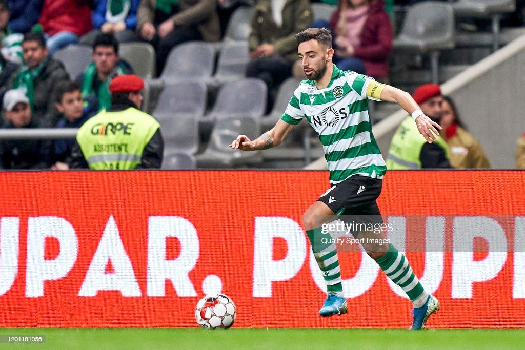 Sporting Braga v Sporting de Lisboa - Taça da Liga : News Photo