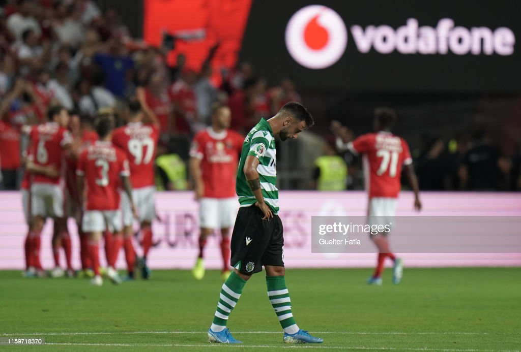 SL Benfica v Sporting CP - Portuguese SuperCup : News Photo