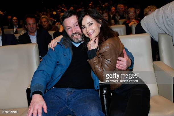 Bruno Finck and Evelyne Bouix attend the Tribute to JeanClaude Brialy for the 10th anniversary of his death Held at Centre National du Cinema et de...