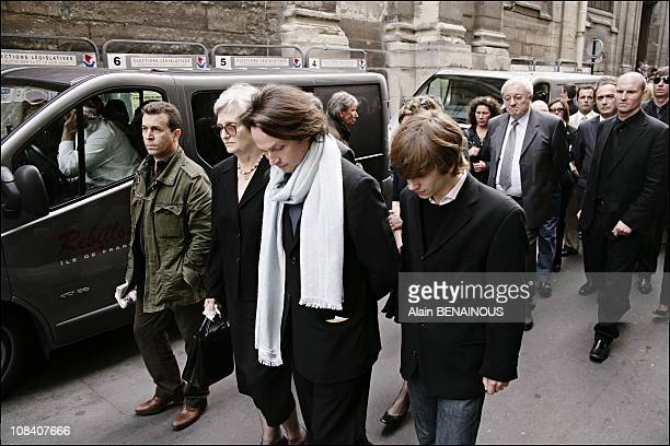 Bruno Fink, Jean-Claude Brialy's friend in Paris, France on June 04, 2007.