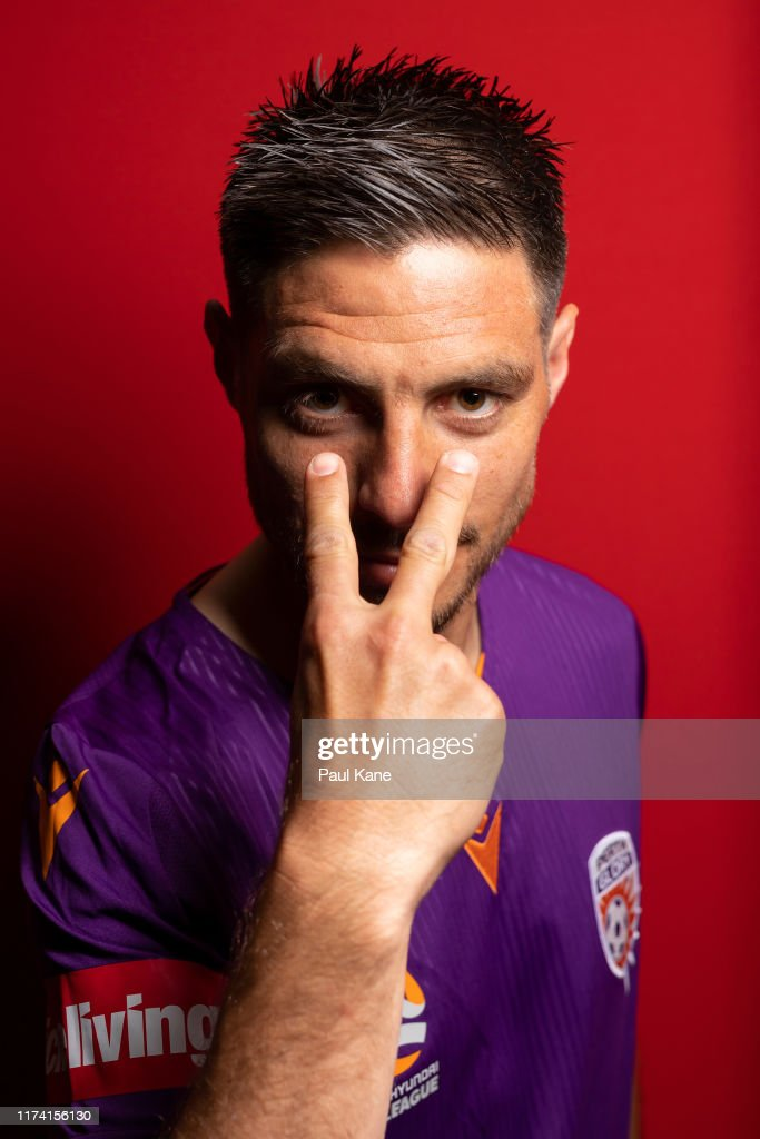 Perth Glory 2019/20 A-League Headshots Session : News Photo