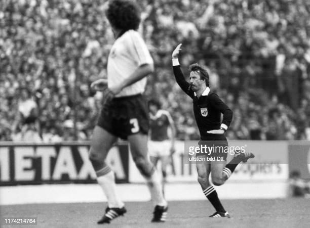 Bruno Galler Schiedsrichter Fussball WM 1982 Spanien