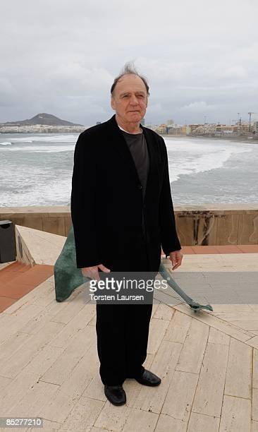 Bruno Ganz attends the 10th Las Palmas International Cinema Festival on March 6 2009 in Las Palmas Spain