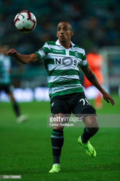 Bruno Gaspar of Sporting CP during the Liga NOS round 8 match between Sporting CP and Boavista FC at Estadio Jose Alvalade on October 28 2018 in...