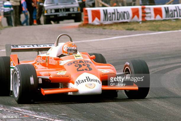 Bruno Giacomelli in an Alfa Romeo 179C at the Dutch GP Zandvoort Netherlands 1980