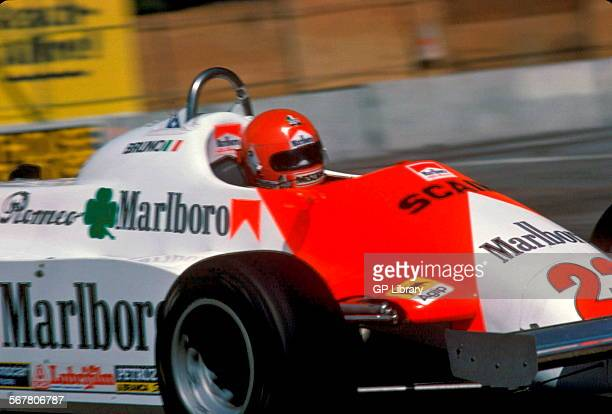 Bruno Giacomelli in an Alfa Romeo 179C in the Italian GP at Monza Italy 1981