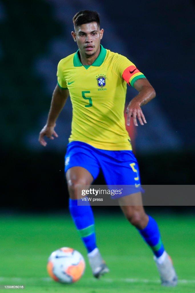 Brazil U23 v Peru U23 - CONMEBOL Preolimpico Colombia 2020 : News Photo