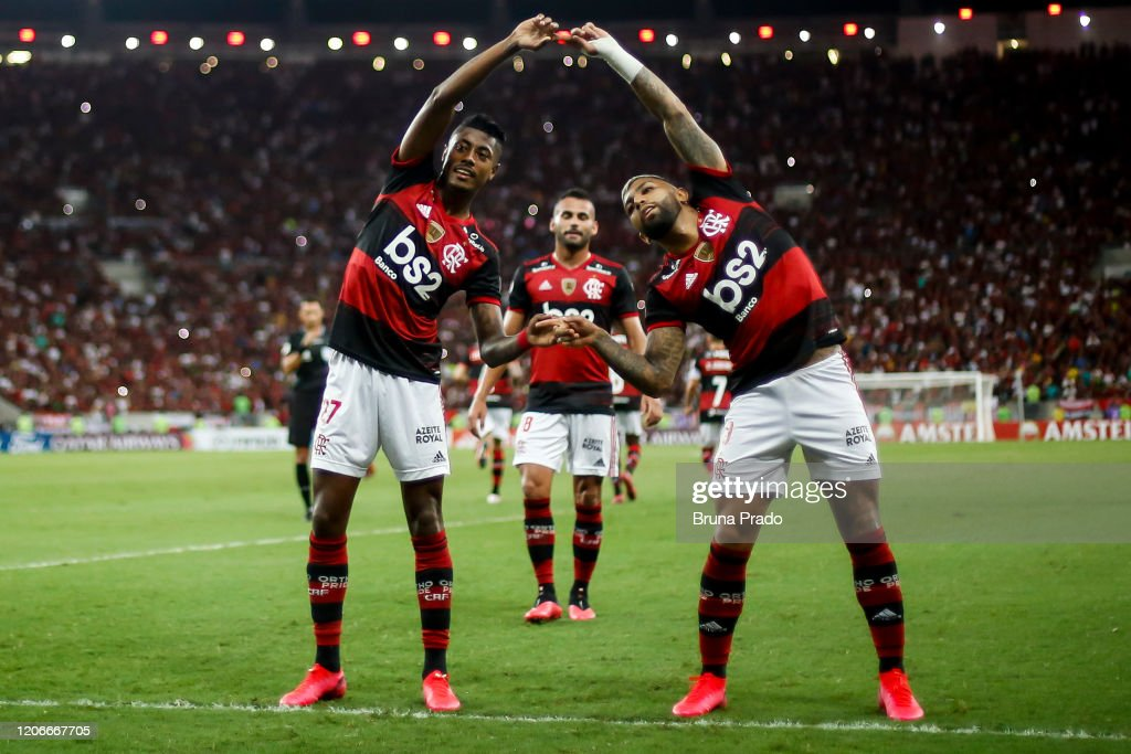 Flamengo v Barcelona - Copa CONMEBOL Libertadores 2020 : ニュース写真