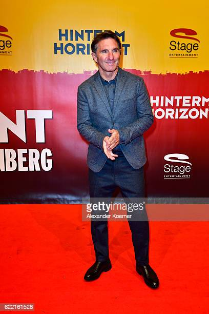Bruno Labbadia attends the red carpet at the Hinterm Horizont Musical premiere at Stage Operretenhaus on November 10 2016 in Hamburg Germany