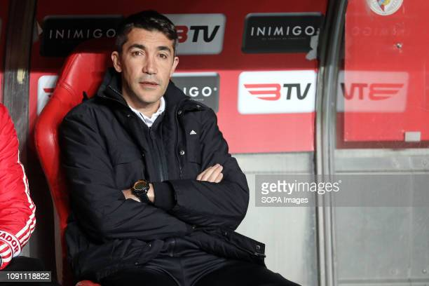 Bruno Lage Manager of SL Benfica seen during the League NOS 2018/19 football match between SL Benfica vs Boavista FC