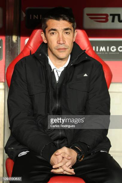Bruno Lage of SL Benfica during the match between SL Benfica and Sporting CP for the first hand of the semi finals of Taca de Portugal at Estadio da...
