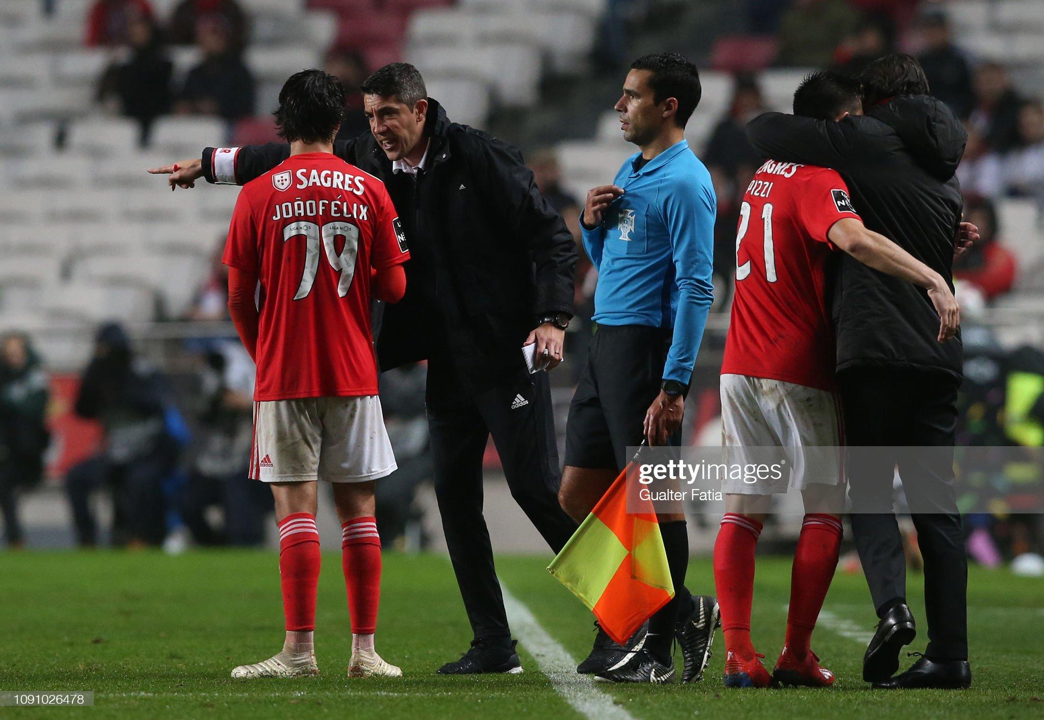 SL Benfica v Boavista FC - Liga NOS : News Photo