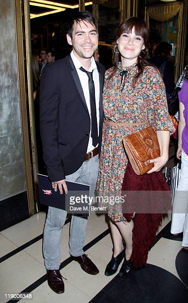 Bruno Langley and guest attend the Press Night performance of the new cast of 'Legally Blonde The Musical' featuring Carley Stenson Lee Mead and...