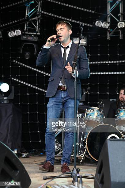 Bruno Langley at Manchester Pride 2012 on August 24 2012 in Manchester England