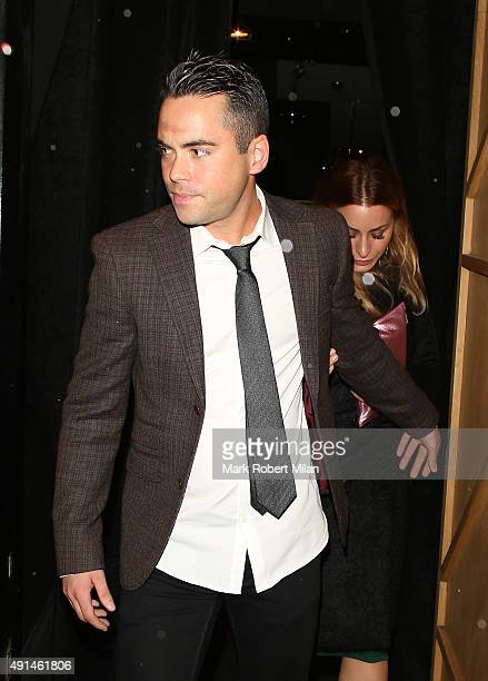 Bruno Langley at the Inside Soap awards on October 5 2015 in London England