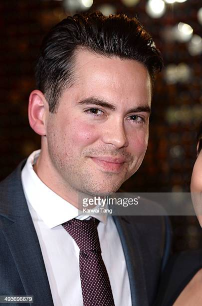 Bruno Langley attends the British Soap Awards held at the Hackney Empire on May 24 2014 in London England