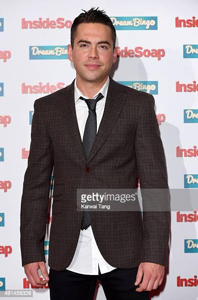 Bruno Langley attends the Inside Soap Awards at DSKTRT on October 5 2015 in London England