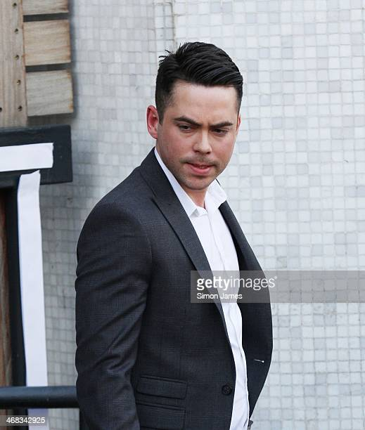 Bruno Langley sighting on February 10 2014 in London England