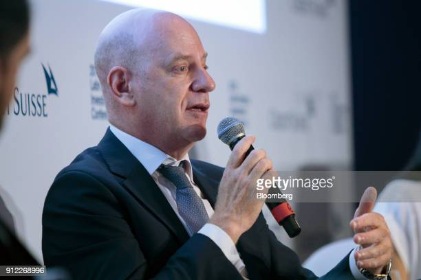 Bruno Laskowsky head of CSHG Real Estate FI Imobiliario speaks during the 2018 Latin America Investment Conference in Sao Paulo Brazil on Tuesday Jan...
