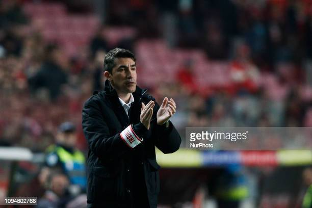 Bruno Late of Benfica during the Portugal Cup football match between SL Benfica and Sporting CP at Luz Stadium in Lisbon on February 6 2019