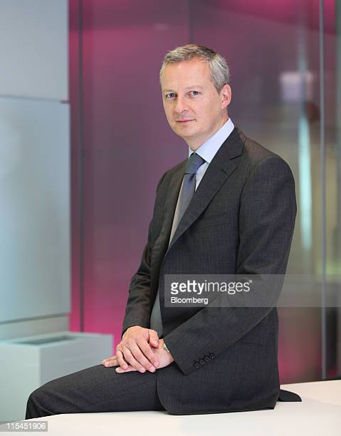 Bruno Le Maire France's agriculture minister poses for a photograph in London UK on Tuesday June 7 2011 France the European Union's largest...
