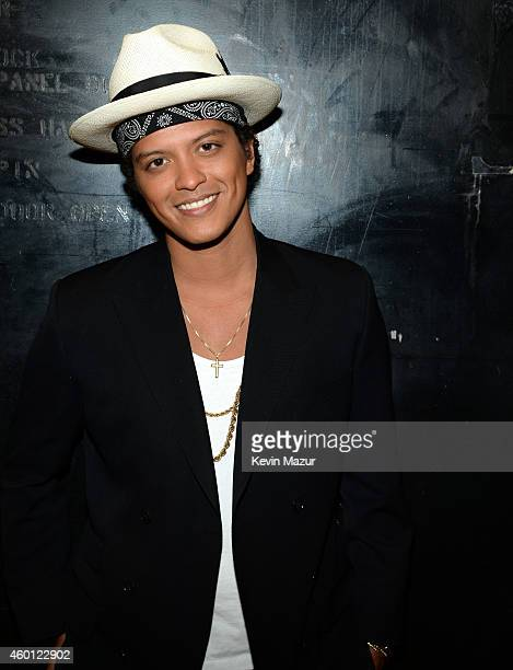 Bruno Mars attends the 37th Annual Kennedy Center Honors at The John F Kennedy Center for Performing Arts on December 7 2014 in Washington DC