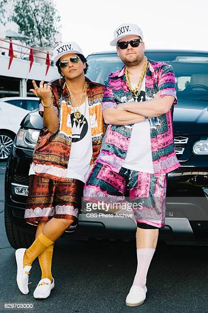 Bruno Mars performs Carpool Karaoke with James Corden during 'The Late Late Show with James Corden' Friday November 18 2016 On The CBS Television...