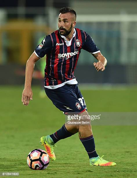 Bruno Martella of FC Crotone in action during the Serie A match between FC Crotone and Atalanta BC at Adriatico Stadium on September 26 2016 in...