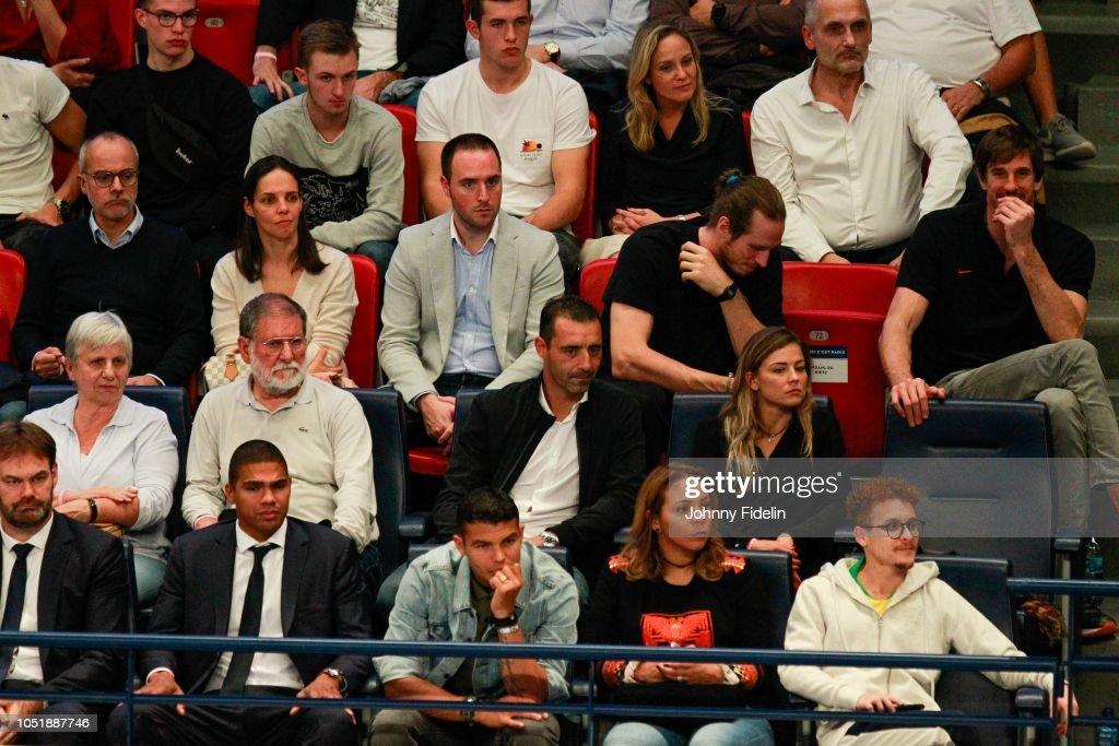 Bruno Martini, director of PSG, Daniel Narcisse, Olivier ...