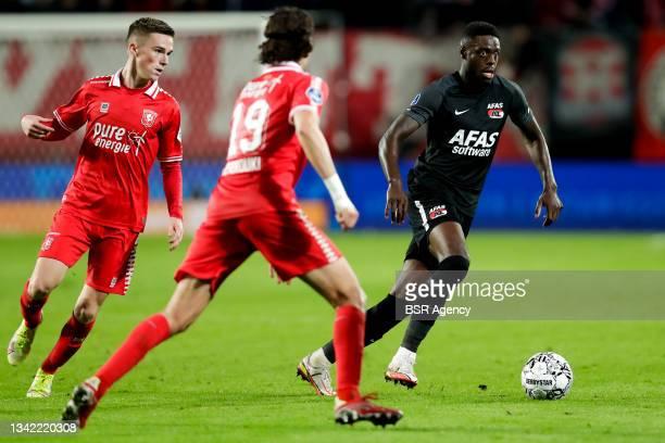 Bruno Martins Indi of AZ during the Dutch Eredivisie match between FC Twente and AZ at De Grolsch Veste on September 23, 2021 in Enschede, Netherlands