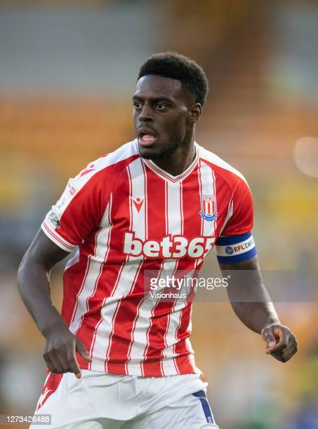 Bruno Martins Indi of Stoke City during the Carabao Cup second round match between Wolverhampton Wanderers and Stoke City at Molineux on September 17...