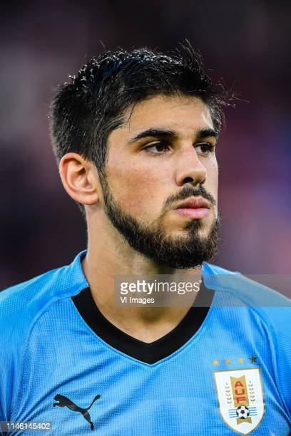 Bruno Mendez of Uruguay U20 during the FIFA U20 World Cup Poland 2019 group C match between Uruguay U20 v Norway U20 at Lodz Stadium on May 24 2019...